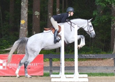 Kathryn Contarino and Refinida, nehc member on horse
