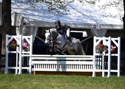 Kiley and Watermark, nehc member on horse